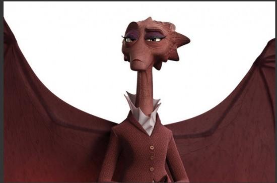 Personaje  Monsters University-Dean Hardscrable