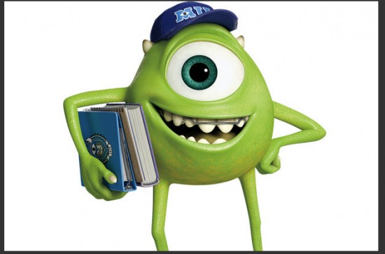 Personaje de la Película Monsters University Mike