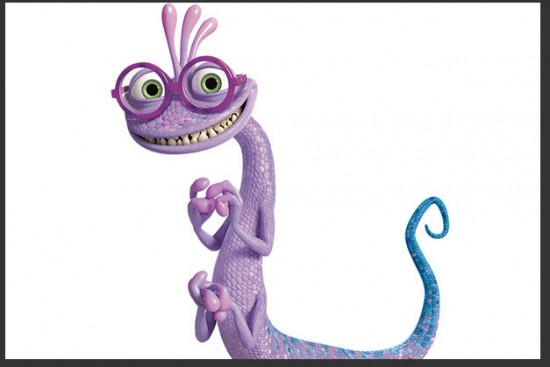 Personaje de  Monsters University Randy