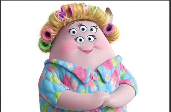 Personaje de Monsters University  Ms Squibbles