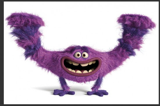 Personajes de Monsters University Art