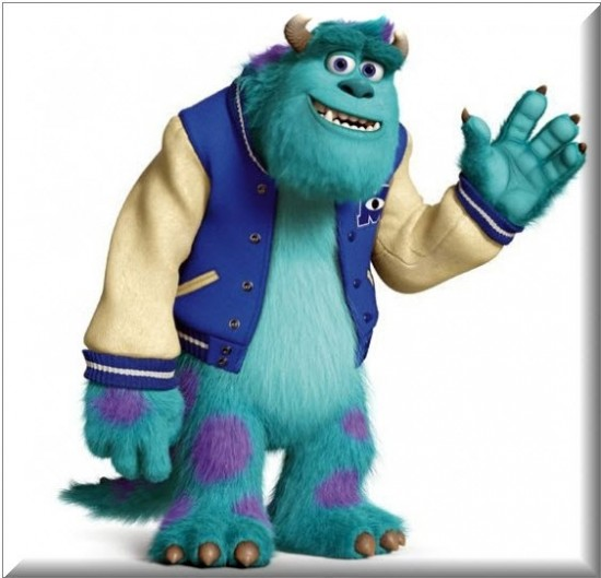 Personajes de la Película Monsters University Sulley