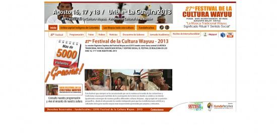 Festival de la Cultura Wayuu