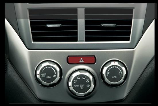 Subaru Impreza, aire acondicionado con climatizador