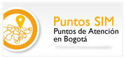 Dirección Sim Bogotá Niza
