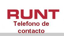 Teléfono del Runt en Bogotá
