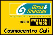 Teléfono y Dirección Giros y finanzas, C.C. Cosmocentro I y II, Cali, Valle