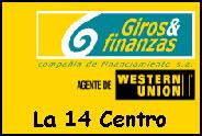 Teléfono y Dirección Giros y finanzas, La 14 Centro, Cali, Valle