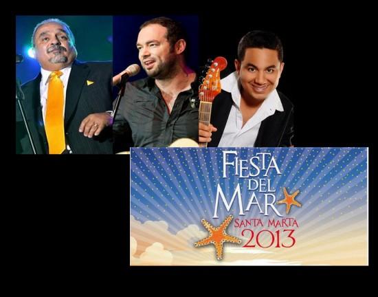 Artistas invitados Fiestas del Mar 2013