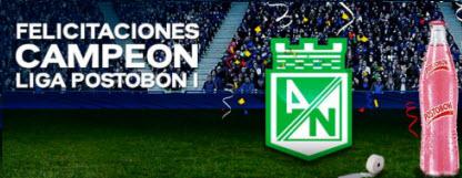 Atlético Nacional Campeón de la Liga Postobón 2013-1