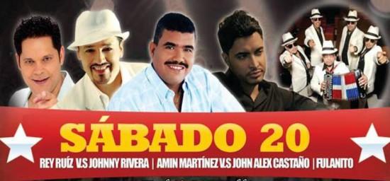 Conciertos Feria de Buga 2013