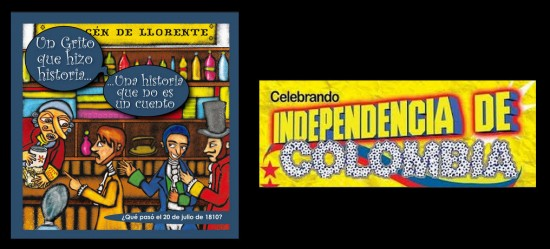 Día de la Independencia de Colombia 2013