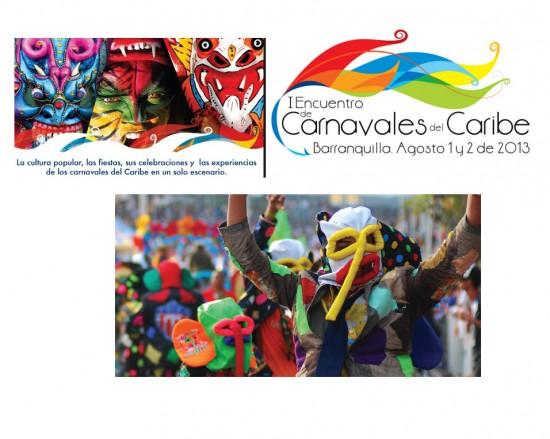 Encuentro de Carnavales del Caribe en Barranquilla 2013