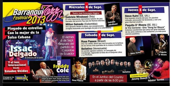 Festival Barranquillaz 2013
