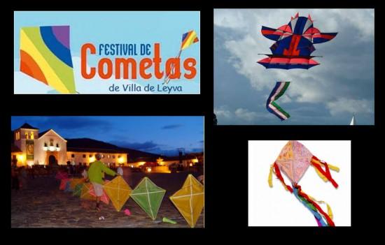 Festival Nacional de Cometas en Villa de Leyva 2013