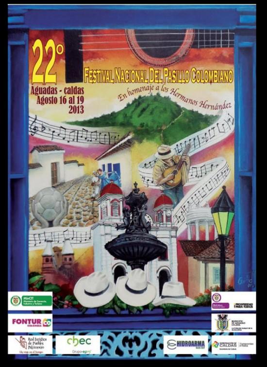 Festival Nacional del Pasillo Colombiano 2013 en Aguadas