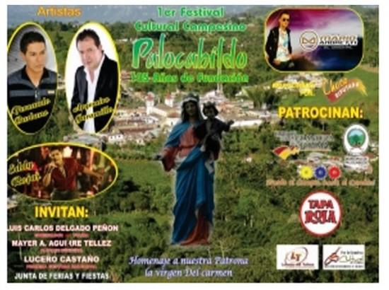 Festival cultural Campesino en Palocabildo