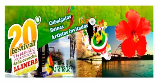 Festival de la Cosecha Llanera en Granada, Meta 2013