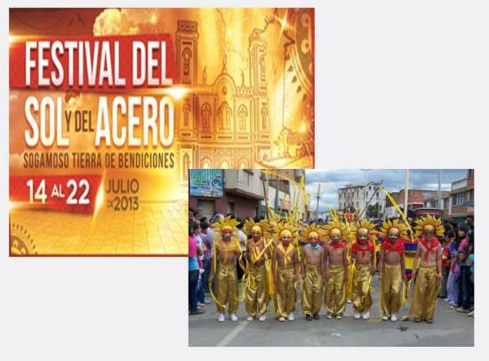 Festival del Sol y del Acero en Sogamoso, Boyacá 2013