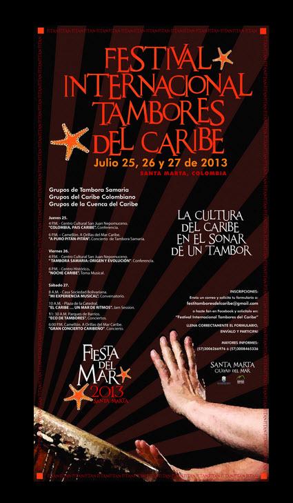 Fiestas del Mar 2013 se llevará a cabo Festival Internacional Tambores