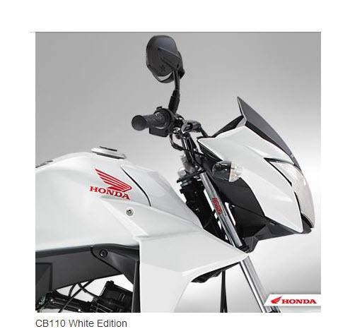 Honda CB 110  White Edition 2013