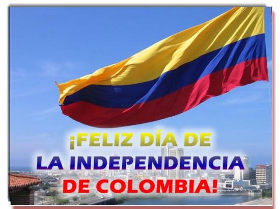 Imagen Bandera Día de la Independencia de Colombia