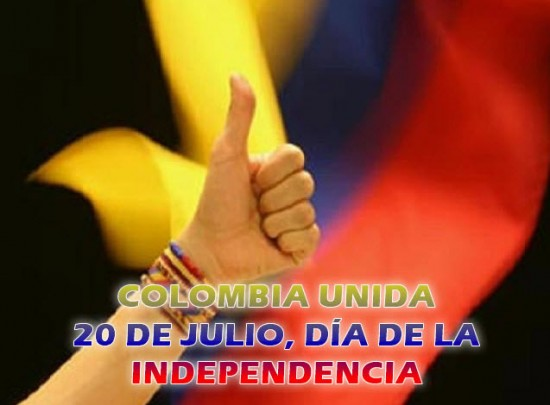 Día de la Independencia de Colombia, 20 de Julio
