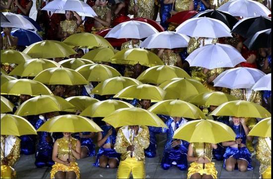 Inauguración Juegos Mundiales 2013 en Cali