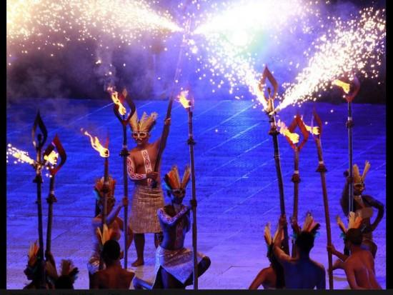 Imágenes de la Ceremonia de los Juegos Mundiales 2013