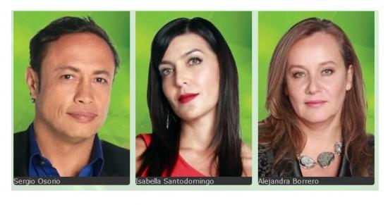 Jurados Protagonistas de Nuestra Tele 2013