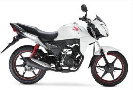 Nueva Honda CB 110  White Edition 2013