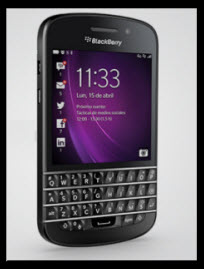 Nuevo Blackberry Q10