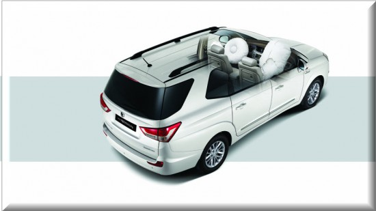 Ssangyong Rodius 2013 Colombia