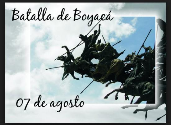 7 de Agosto Batalla de Boyaca
