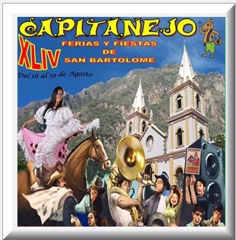 Afiche oficial Ferias y Fiestas de San Bartolomé 2013
