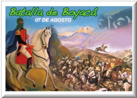 Batalla de Boyaca 2013, 7 de Agosto