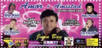 Concierto romántico de Amor y Amistad en Cali 2013