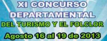 Concurso Departamental del Turismo y el Folclor 2013 en Gutaquí, Cundinamarca
