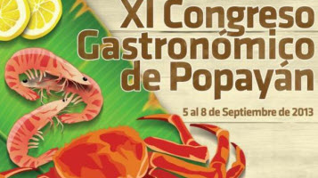 Congreso Nacional de Gastronomía en Popayán 2013