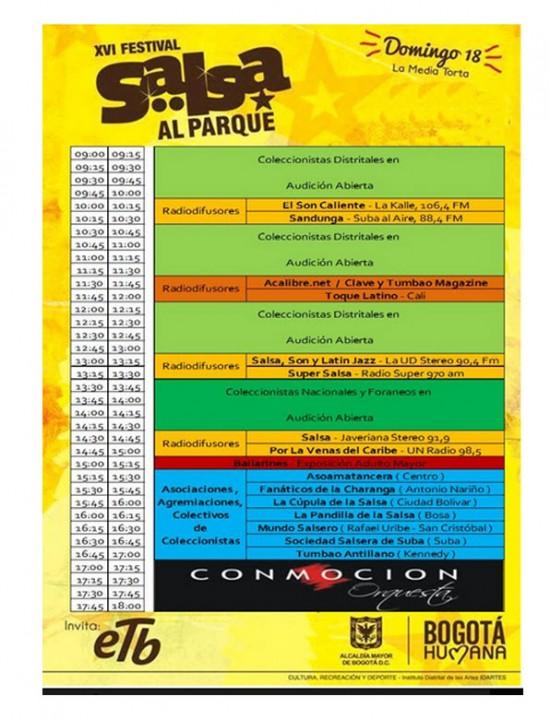 Encuentro de Melómanos y Coleccionistas, Festival Salsa al Parque 2013