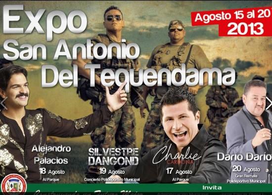 Expo San Antonio del  Tequendama