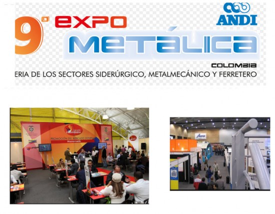 Expometálica 2013 en Medellin
