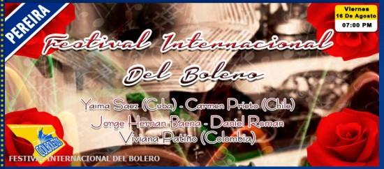 Festival Internacional del Bolero 2013