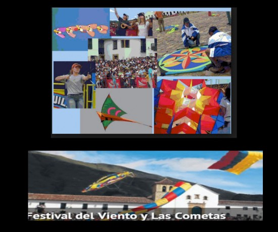 Festival del Viento y las Cometas 2013 en Villa de Leyva