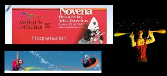 Fiestas de las Artes Escénicas en Medellin 2013
