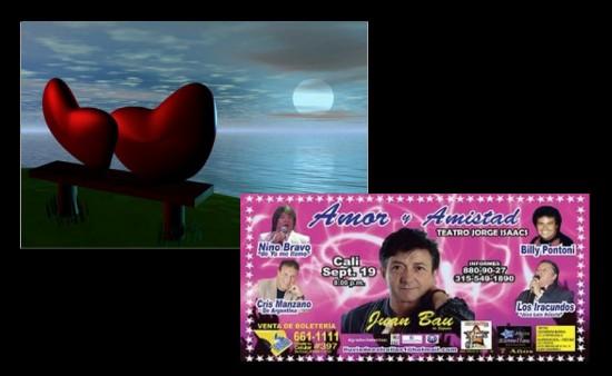 Gran Concierto romántico de Amor y Amistad en Cali 2013