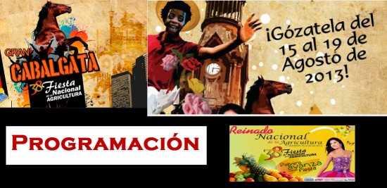 Programación de la Fiesta Nacional de la Agricultura 2013