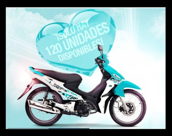 Imagenes de motos viva r - Viva r edicion especial