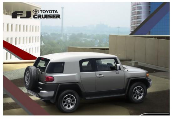 Toyota FJ Cruiser Trilogy