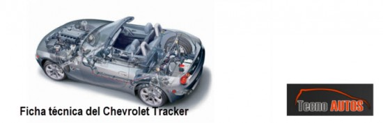 Ficha Técnica Chevrolet  Tracker 2013